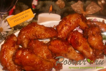 Сладкие куриные крылышки по-корейски Изображение