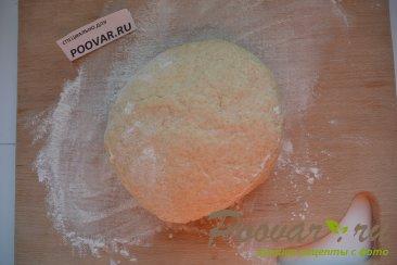 Жареные пирожки с сосиской и картошкой Шаг 7 (картинка)
