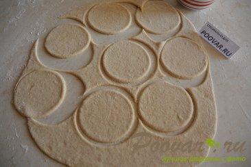Жареные пирожки с сосиской и картошкой Шаг 8 (картинка)