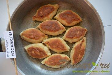 Жареные пирожки с сосиской и картошкой Шаг 12 (картинка)