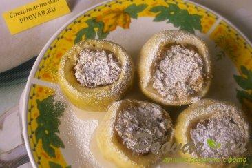 Яблоки фаршированные печеньем Шаг 9 (картинка)