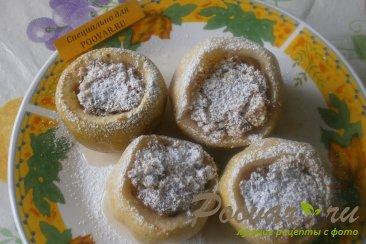 Яблоки фаршированные печеньем Шаг 8 (картинка)