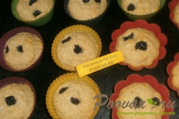 Лимонно - овсяные кексы на кефире Шаг 6 (картинка)