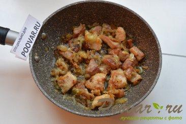 Свинина, жаренная со стручковой фасолью Шаг 4 (картинка)