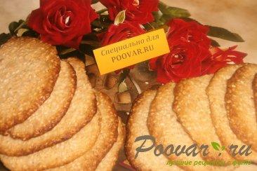 Кунжутное печенье Изображение