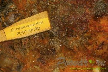Бигос из свиных рёбрышек и колбасок Шаг 10 (картинка)