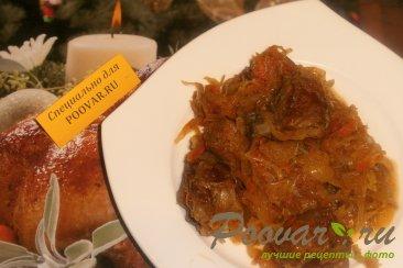 Бигос из свиных рёбрышек и колбасок Шаг 15 (картинка)