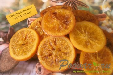 Карамелизированные апельсины Изображение