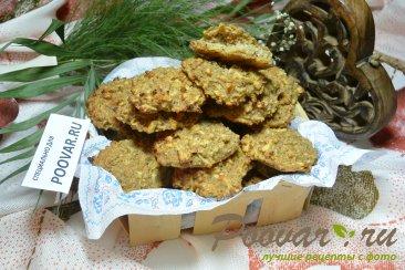 Овсяное печенья на кефире без муки и яиц Изображение