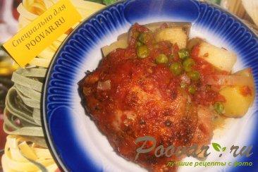 Курица с картофелем в томате Шаг 10 (картинка)
