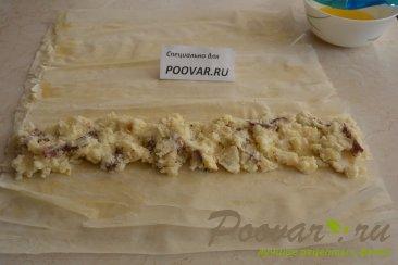 Рулеты из вытяжного теста фило с картошкой Шаг 6 (картинка)