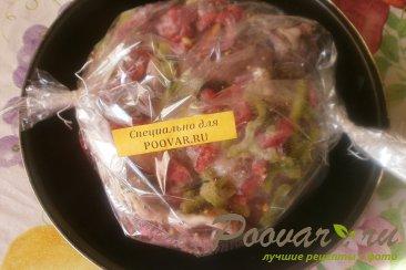 Свиные рёбрышки в духовке с болгарским перцем Шаг 7 (картинка)