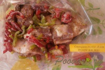 Свиные рёбрышки в духовке с болгарским перцем Шаг 6 (картинка)