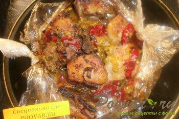 Свиные рёбрышки в духовке с болгарским перцем Шаг 9 (картинка)