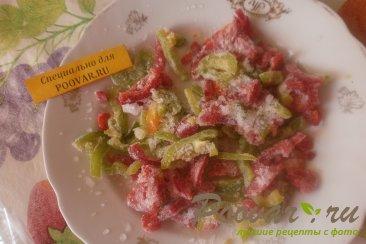 Свиные рёбрышки в духовке с болгарским перцем Шаг 5 (картинка)