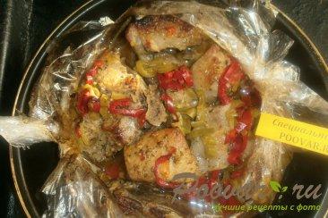 Свиные рёбрышки в духовке с болгарским перцем Шаг 8 (картинка)