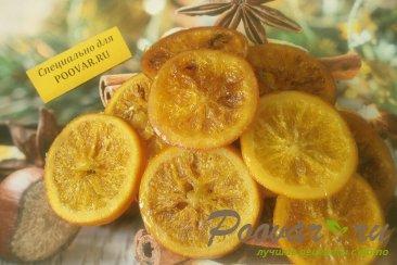 Карамелизированные апельсины в шоколаде с орехами Шаг 1 (картинка)
