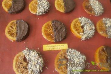 Карамелизированные апельсины в шоколаде с орехами Шаг 5 (картинка)