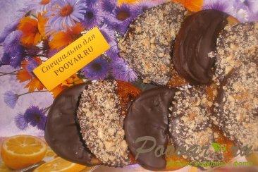 Карамелизированные апельсины в шоколаде с орехами Шаг 6 (картинка)