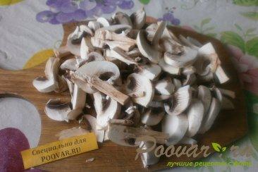 Киш с грибами и овощами Шаг 3 (картинка)