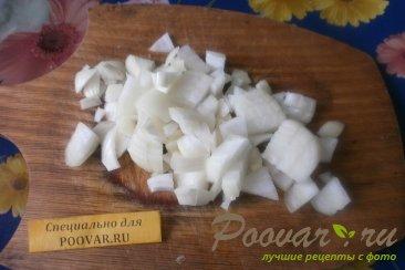 Киш с грибами и овощами Шаг 4 (картинка)
