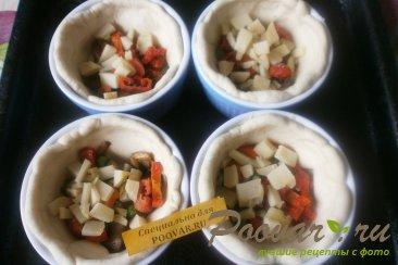 Киш с грибами и овощами Шаг 14 (картинка)