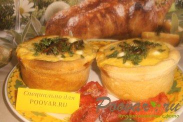 Киш с грибами и овощами Шаг 20 (картинка)