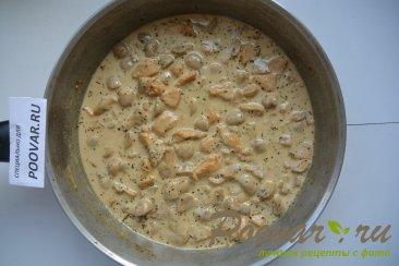 Жульен на сковороде Шаг 8 (картинка)