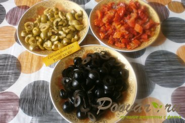 Соус из оливок и вяленых помидор Шаг 2 (картинка)
