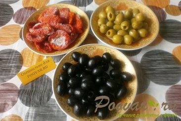Соус из оливок и вяленых помидор Шаг 1 (картинка)