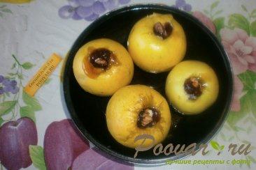 Яблоки, запечённые с карамелью и орехами Шаг 4 (картинка)