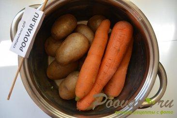Картофель с морковью и луком в духовке Шаг 1 (картинка)