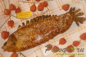 Рыбный пирог из дрожжевого теста Шаг 13 (картинка)