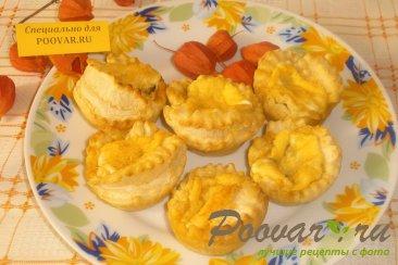 Вкусные тарталетки с начинкой Изображение