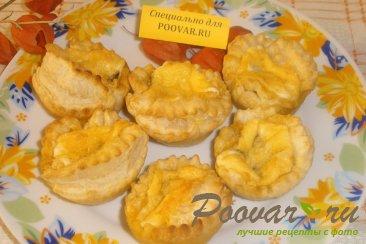 Вкусные тарталетки с начинкой Шаг 10 (картинка)