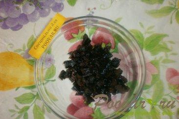 Шоколадные блинчики с творогом и черносливом Шаг 7 (картинка)