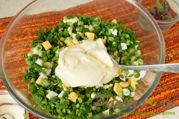 Весенний салат Шаг 4 (картинка)