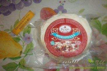 Блинчики с сыром и колбасой Шаг 7 (картинка)