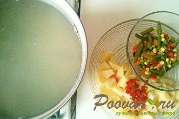 Суп с фрикадельками Шаг 7 (картинка)