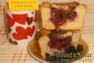 Пирог с ягодой и заварным кремом Шаг 10 (картинка)