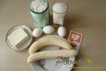 Банановый торт в мультиварке Шаг 1 (картинка)