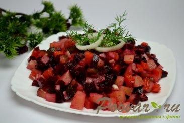 Постный винегрет (из печеных овощей) Изображение