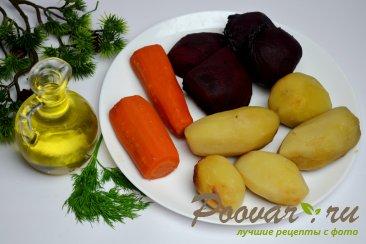 Постный винегрет (из печеных овощей) Шаг 4 (картинка)