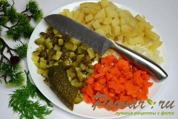 Постный винегрет (из печеных овощей) Шаг 5 (картинка)