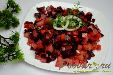 Постный винегрет (из печеных овощей) Шаг 10 (картинка)