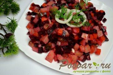 Постный винегрет (из печеных овощей) Шаг 11 (картинка)