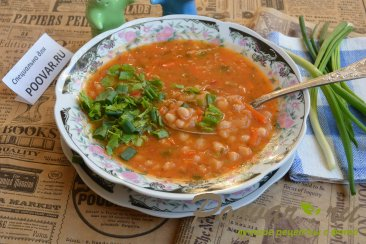 Вкусная фасоль в томатном соусе Изображение