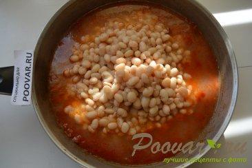Вкусная фасоль в томатном соусе Шаг 7 (картинка)