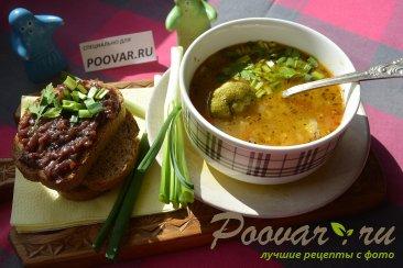 Суп с брокколи и рисом Изображение