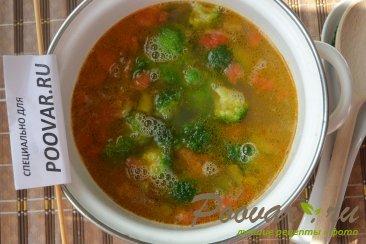 Суп с брокколи и рисом Шаг 7 (картинка)